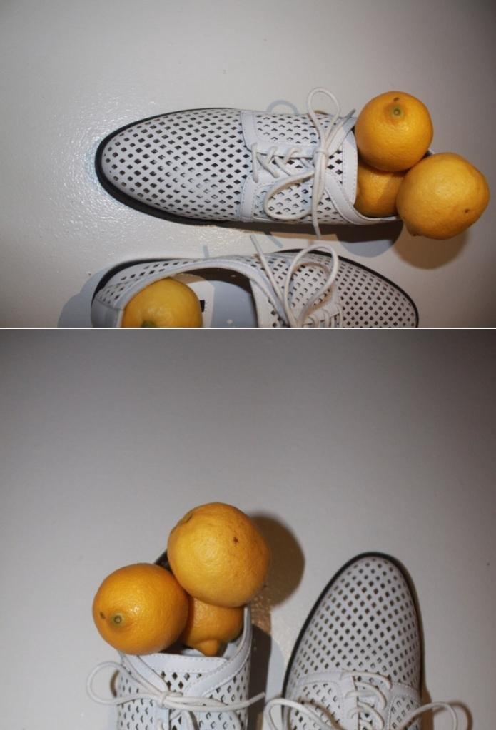 split screen shoe lemon