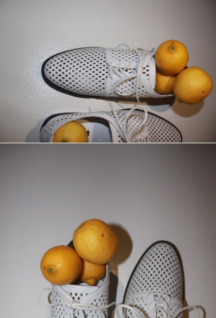 split screen shoe lemon